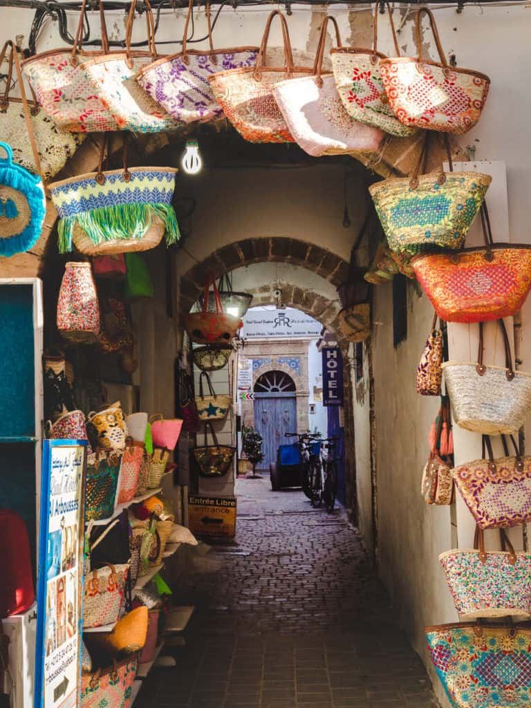 Things to see and do in Essaouira – The complete guide to Morocco's windy city -local craftwork and shops in Essaouira- Journal of Nomads