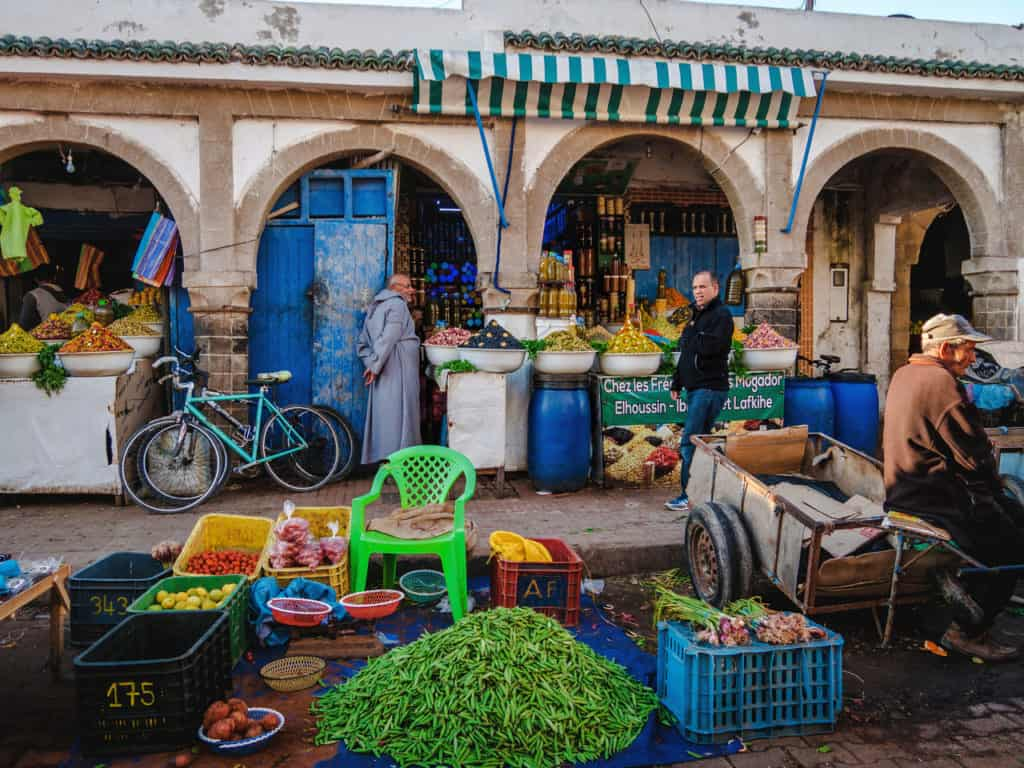 Things to see and do in Essaouira – The complete guide to Morocco's windy city -market in Essaouira- Journal of Nomads