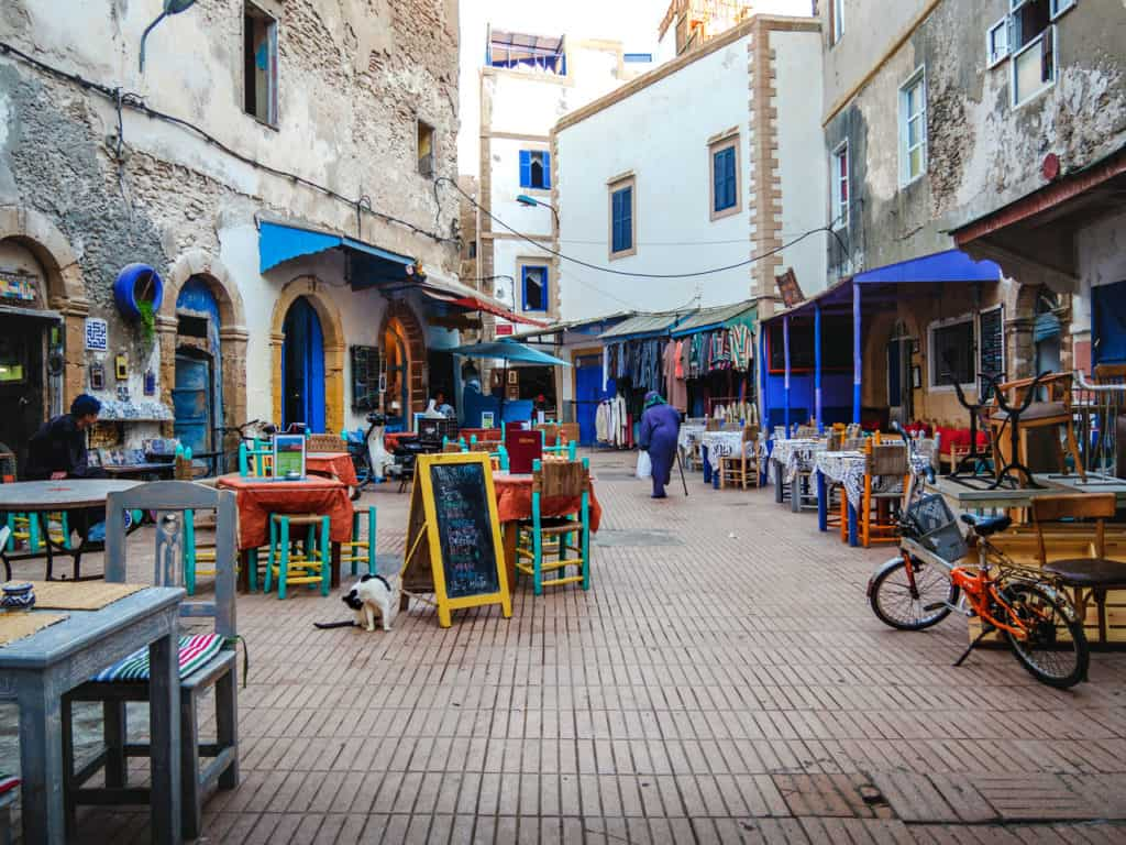 Things to see and do in Essaouira – The complete guide to Morocco's windy city - streets of Essouira - Journal of Nomads