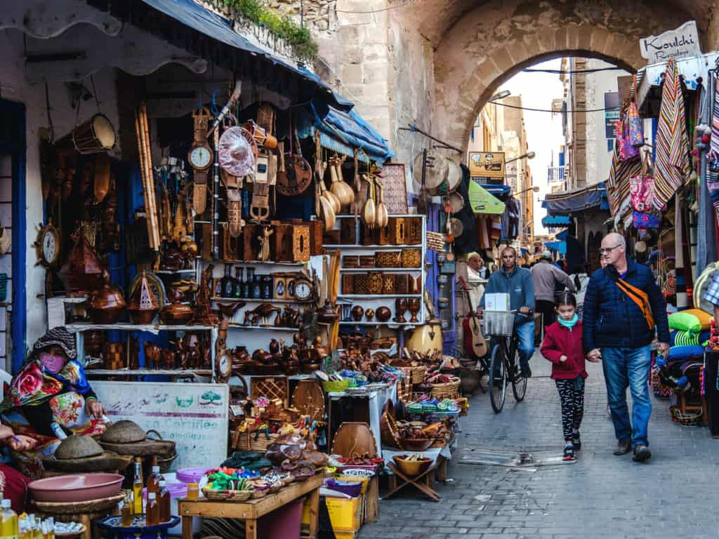 Things to see and do in Essaouira – The complete guide to Morocco's windy city - streets of Essouira - art in Essaouira- Journal of Nomads
