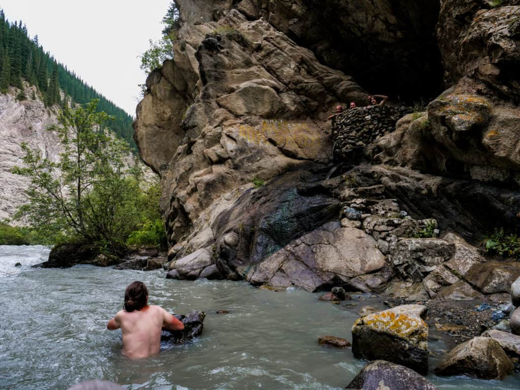 A Complete Guide to Trekking in Kyrgyzstan with the best and most beautiful hikes of the country - Journal of Nomads - The Hot Springs of Altyn Arashan