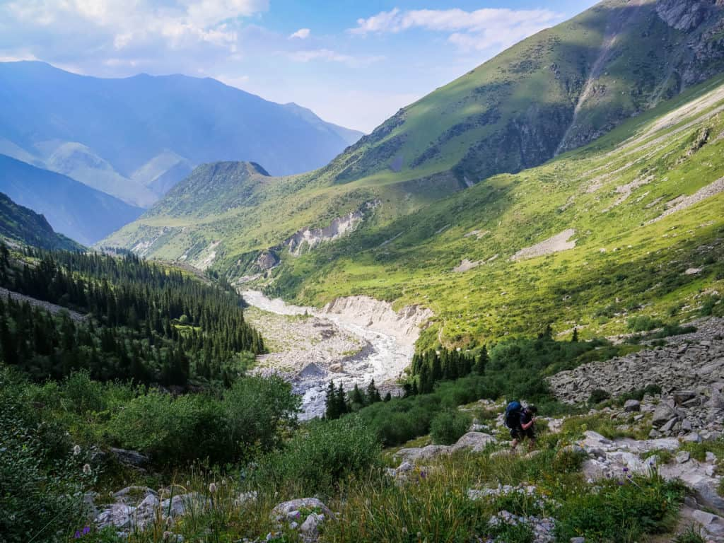 Hiking in Ala Archa National Park -Hiking to the Ak-Sai Glacier - A Complete Guide to Trekking in Kyrgyzstan with the best and most beautiful hikes of the country - Journal of Nomads
