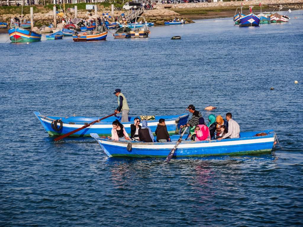 boat rides bou regreg river Rabat - Journal of nomads