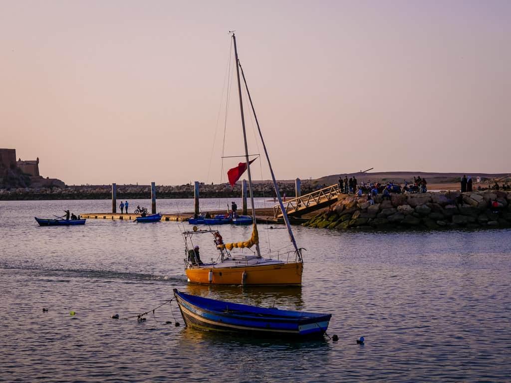 boat rides on the bou regreg river Rabat - journal of nomads