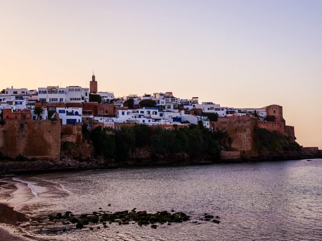 kasbah des oudaias Rabat sunset - journal of nomads