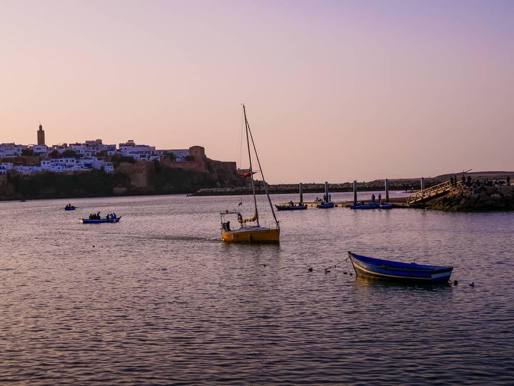 bou regreg river in Rabat at sunset - journal of nomads