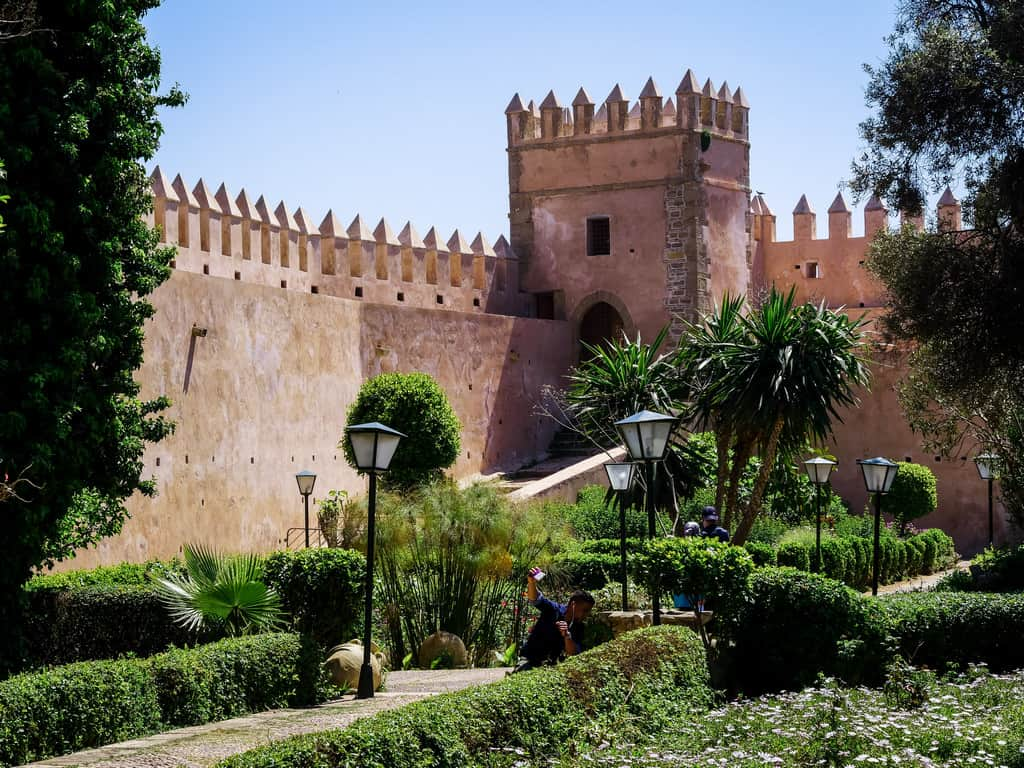 andalusian garden Rabat Morocco - journal of nomads