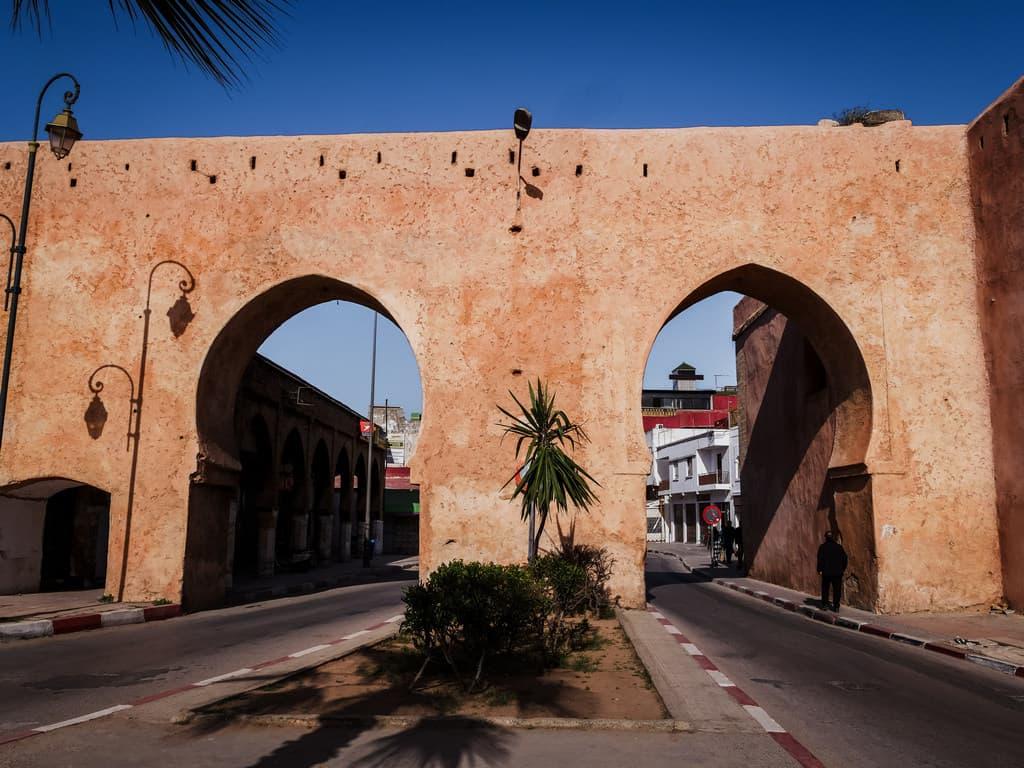 gates old city Rabat Morocco - journal of nomads