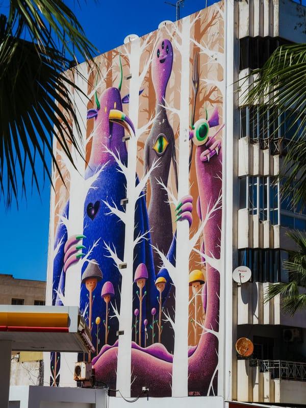 guide to Rabat - cool graffiti - Rabat hip city - journal of nomads