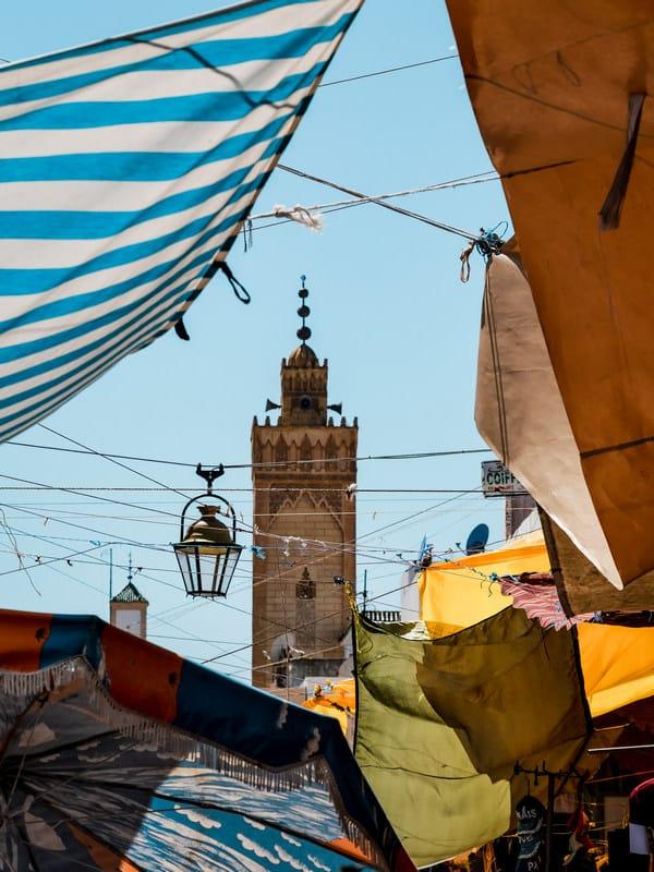 mosque old medina Rabat - journal of nomads