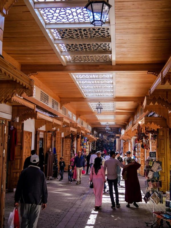 market old city - old medina Rabat Morocco - journal of nomads