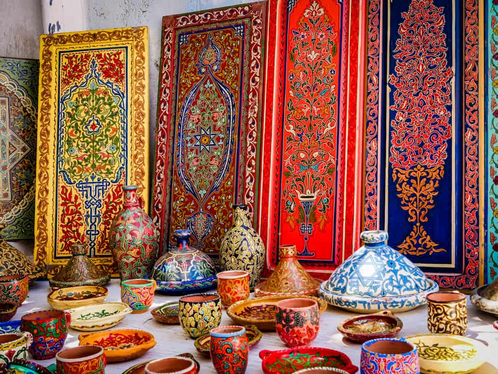 souvenirs kasbah des oudaias Rabat Morocco - journal of nomads