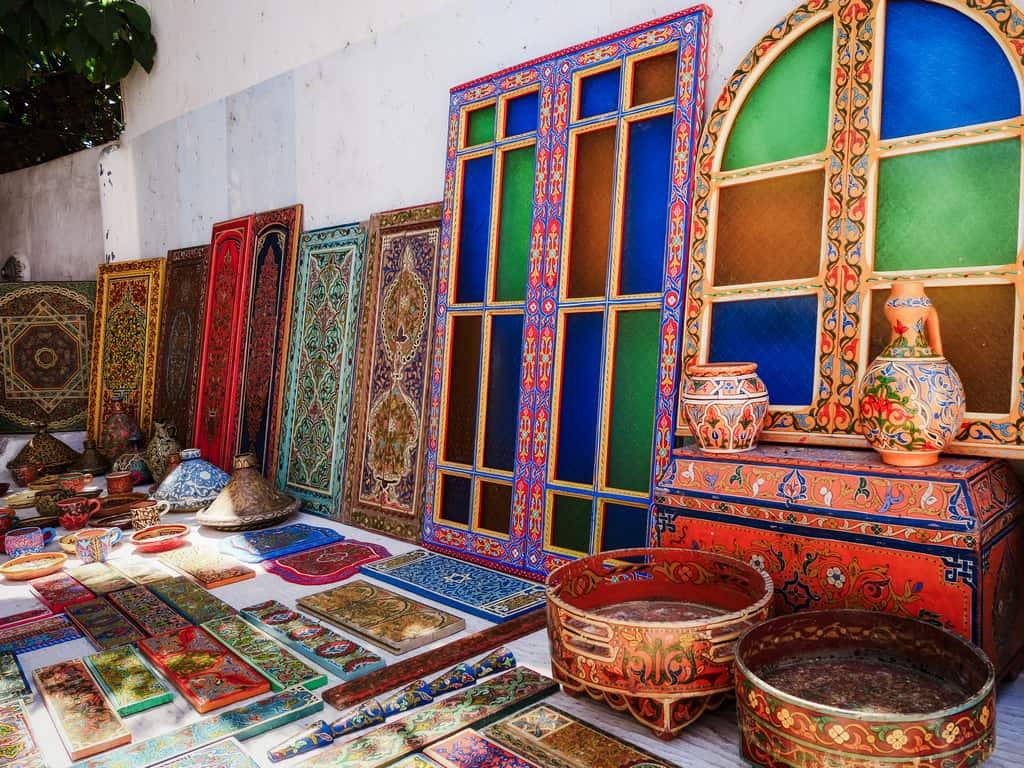 wooden crafts kasbah des oudaias Rabat Morocco - journal of nomads