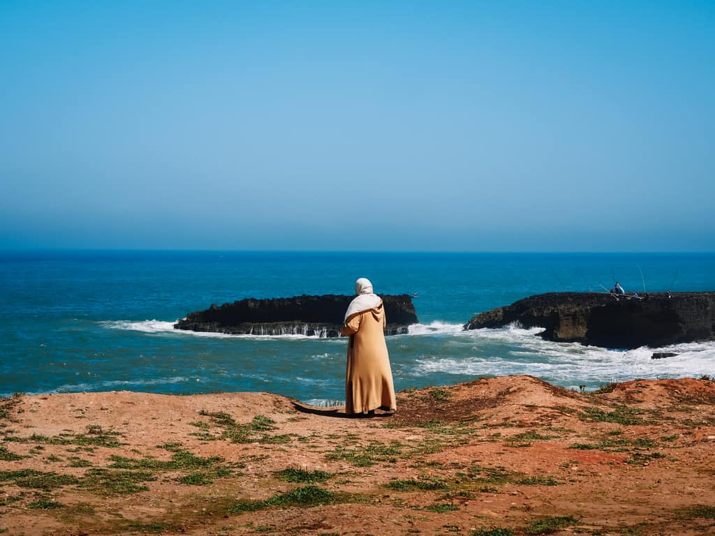 coast near Rabat Morocco - journal of nomads
