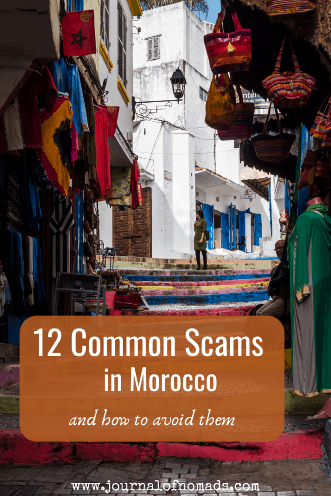 Morocco Travel Safety - 12 Common Scams in Morocco and how to avoid them - Traveling in Morocco - Backpacking in Morocco - Journal of Nomads