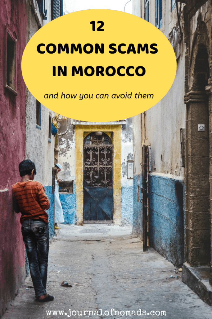 12 Common Scams in Morocco and how to avoid them - Traveling in Morocco - Backpacking in Morocco - Journal of Nomads