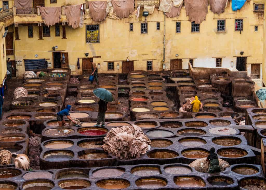 How to visit the tanneries of Fez - tips and costs - Journal of Nomads
