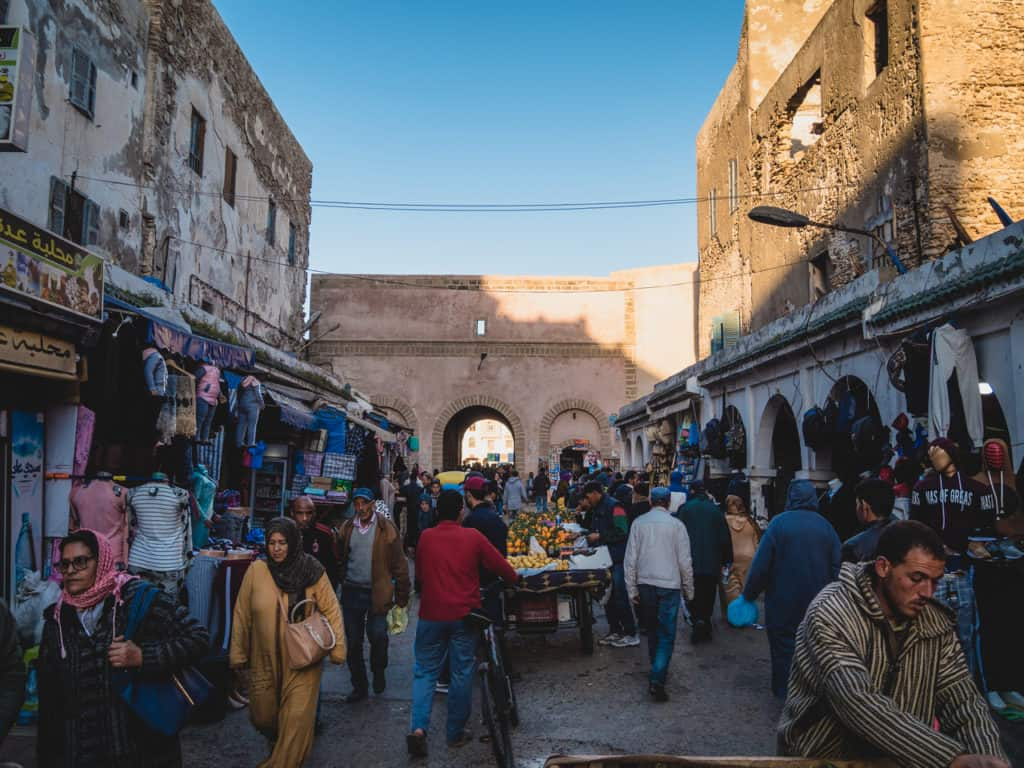 Pickpockets in Morocco in busy places - scams in Morocco - Journal of Nomads