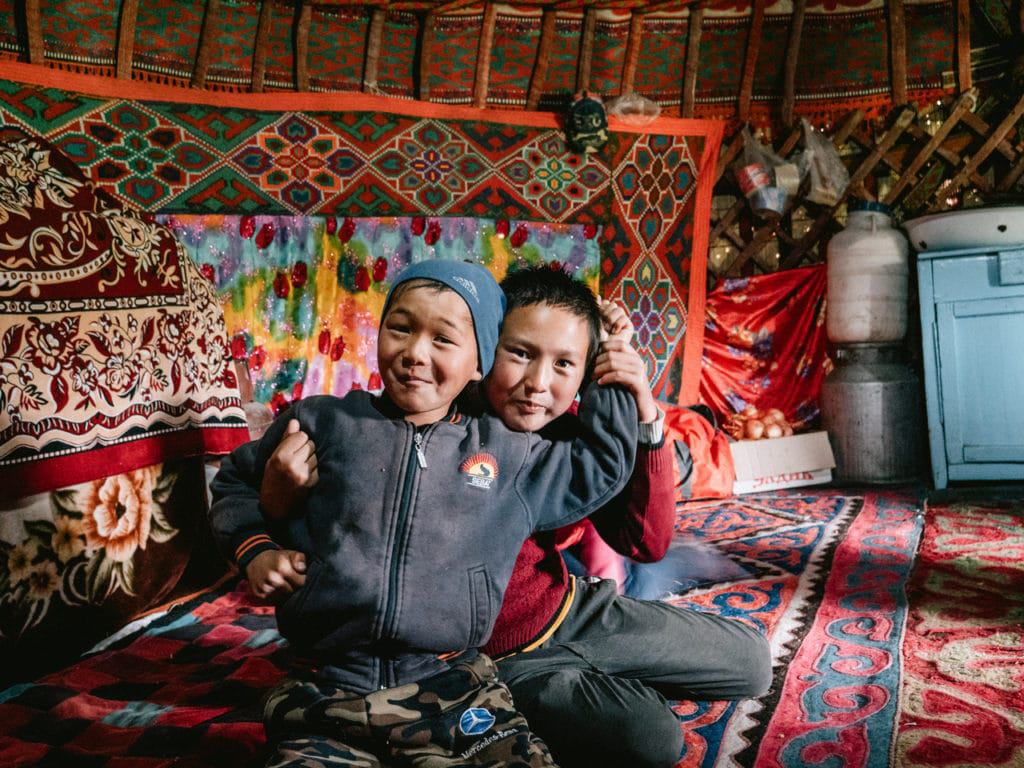 Kids living in yurts in Kyrgyzstan - Journal of Nomads