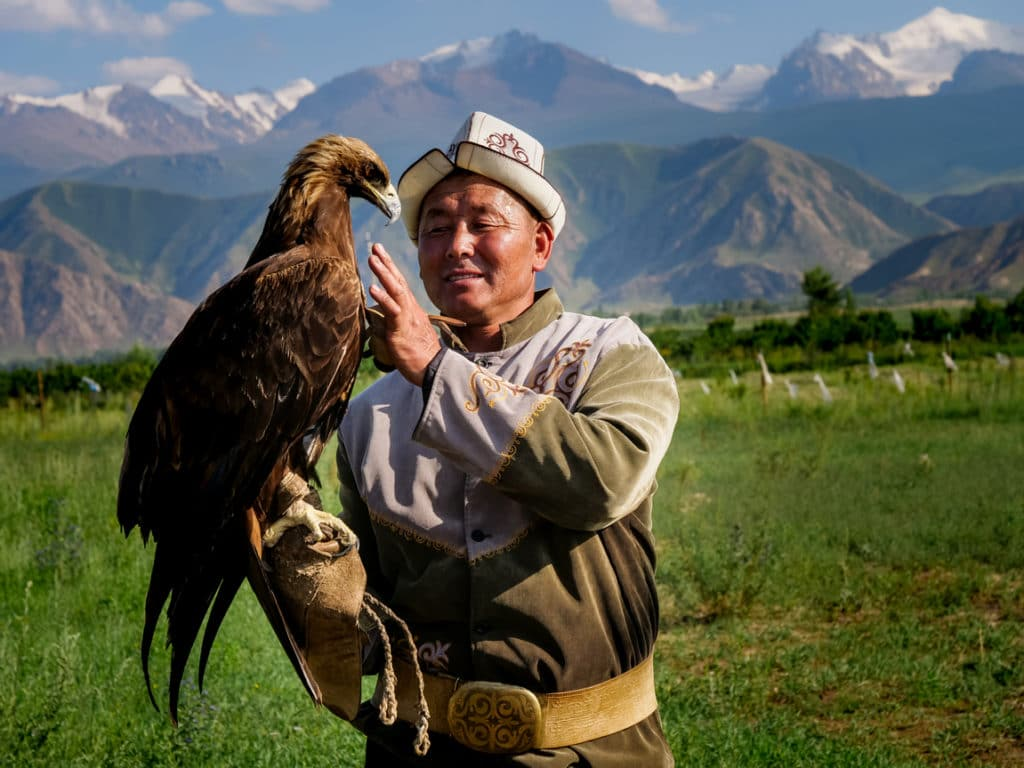 Eagle hunter in Kyrgyzstan - Journal of Nomads