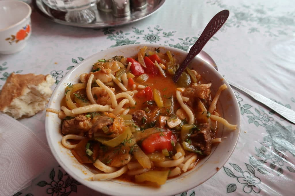 Kyrgyz meal - How much does food in Kyrgyzstan cost - Journal of Nomads