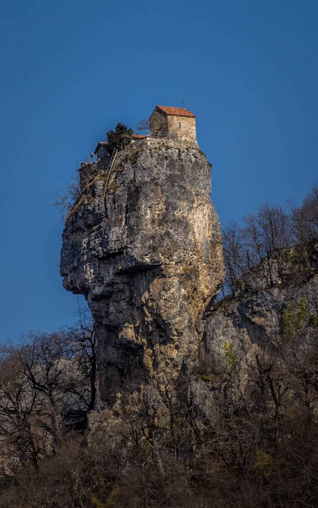 Katskhi Pillar, an unusual place in Georgia - Journal of Nomads