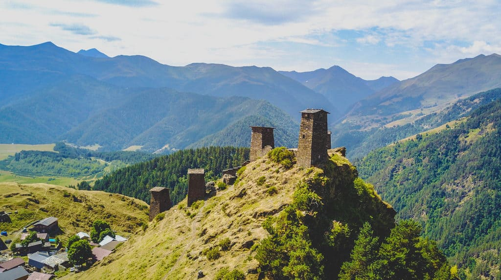 Tusheti Drone Photo - Journal of Nomads