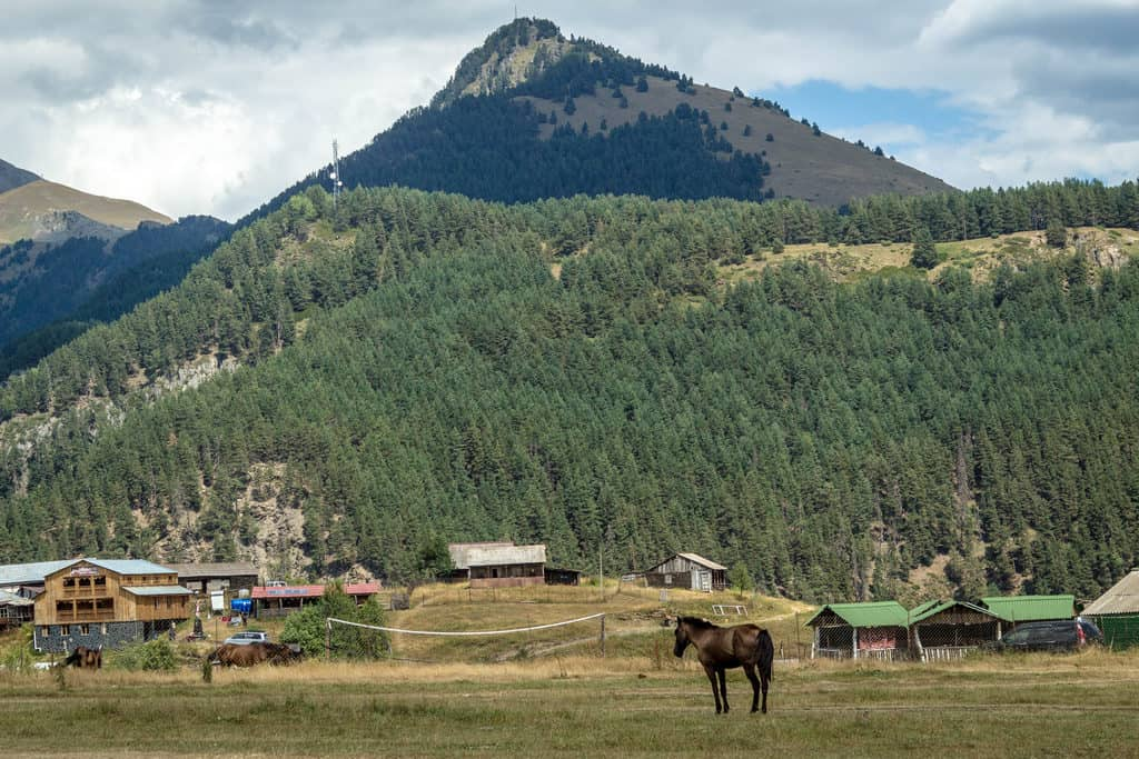 The countryside in Tusheti Georgia - Journal of Nomads