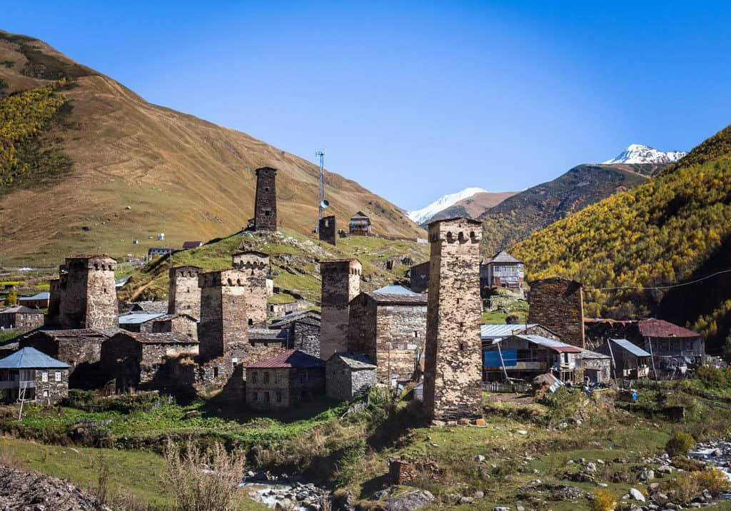 Ushguli, highest village of Europe in Georgia - Journal of Nomads