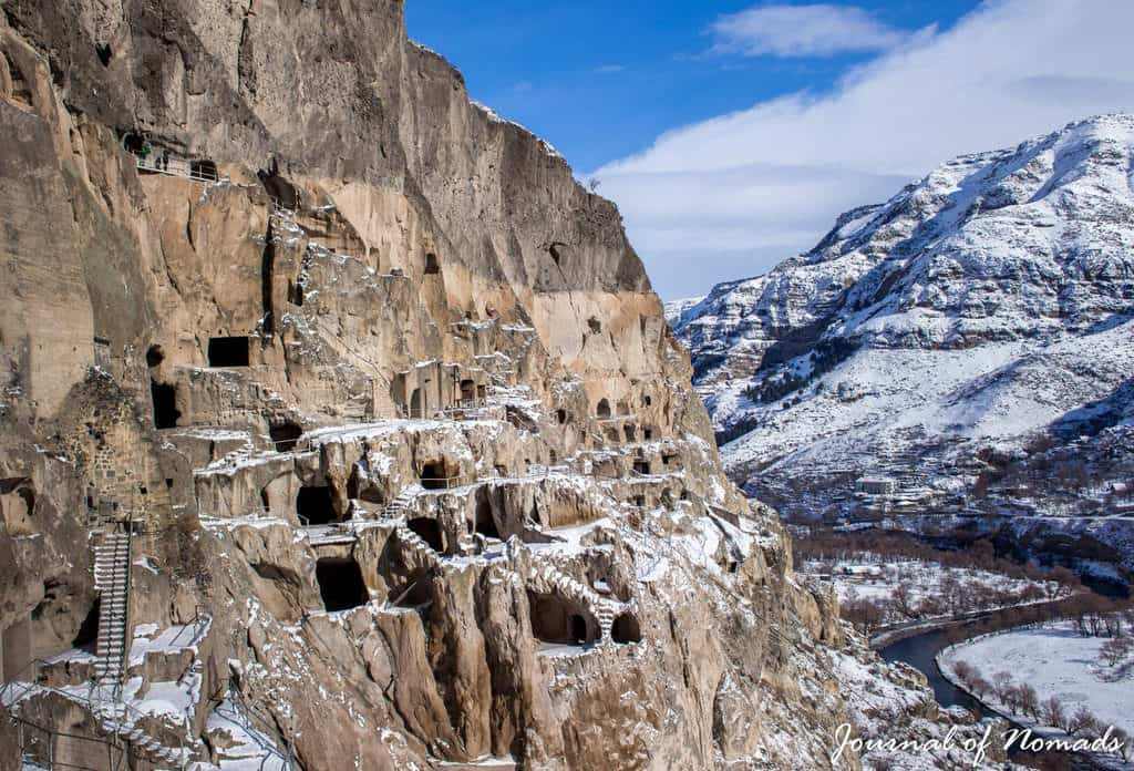 Vardzia, ancient cave city of Georgia - Journal of Nomads