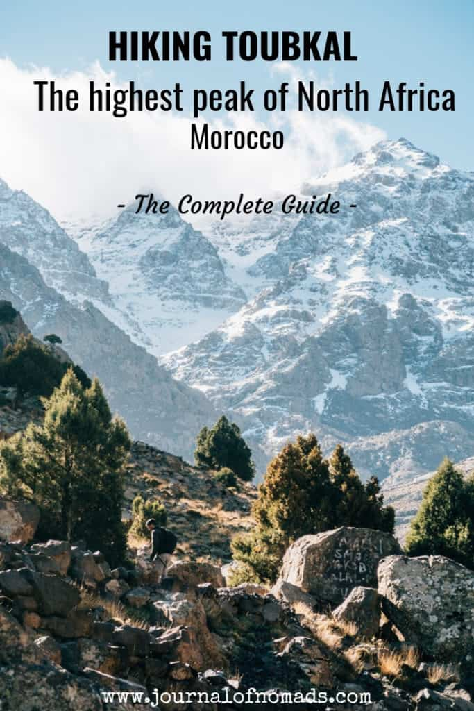 hiking toubkal in Morocco - the complete guide - toubkal in the atlas mountains - journal of nomads
