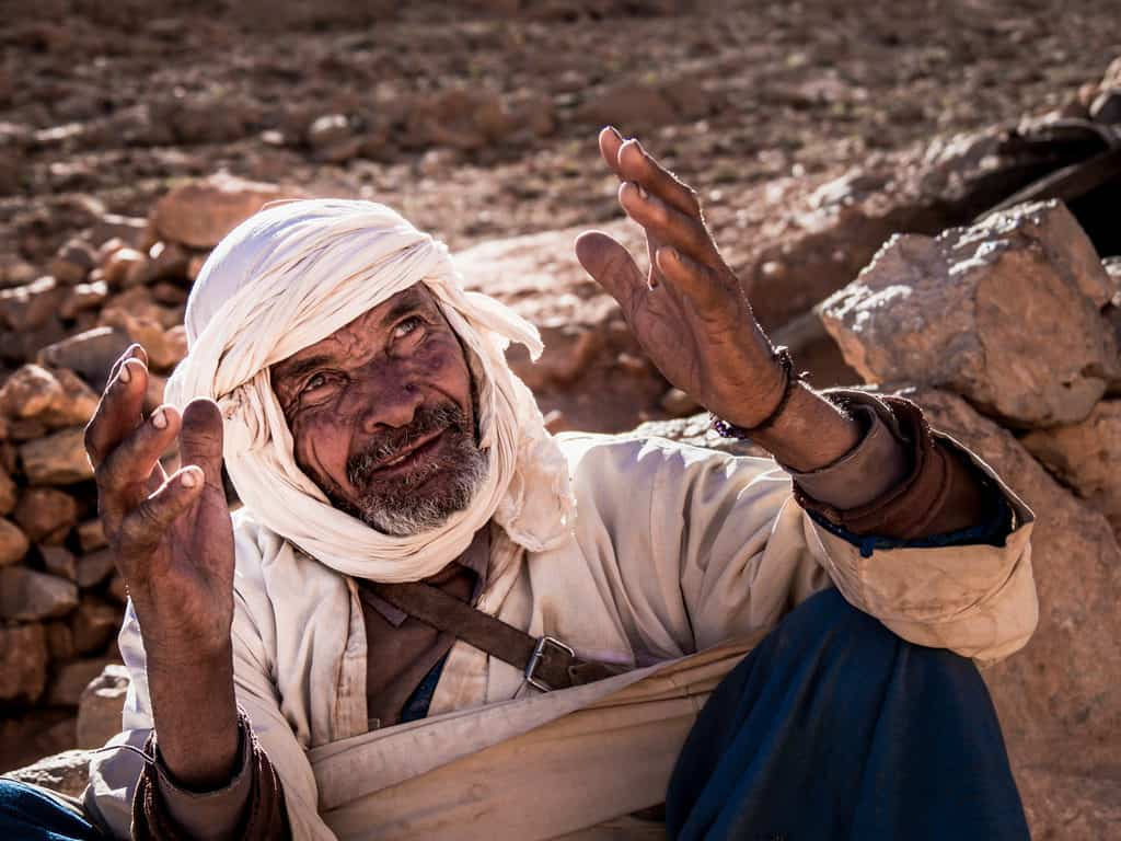 Portraits of Morocco - Berber man - Journal of Nomads
