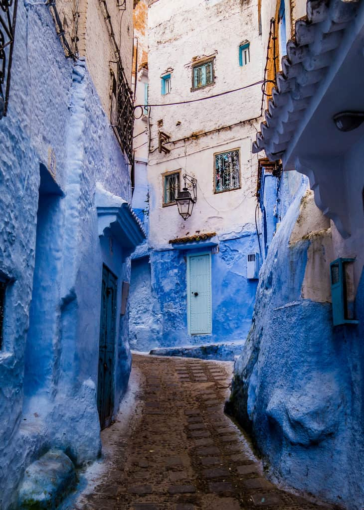 Blue Streets of Chefchaouen Morocco - street photography Morocco - Journal of Nomads