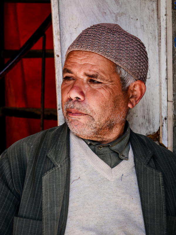 Portrait Moroccan man - Journal of Nomads