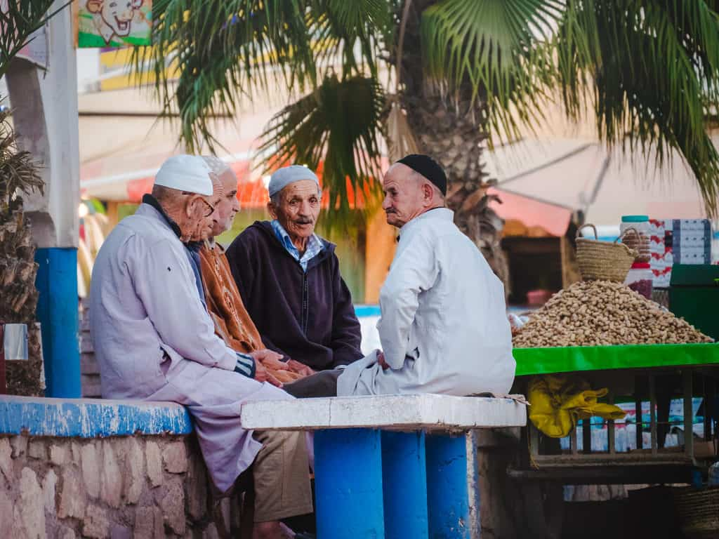 Morocco street photography - men in Morocco - Journal of Nomads