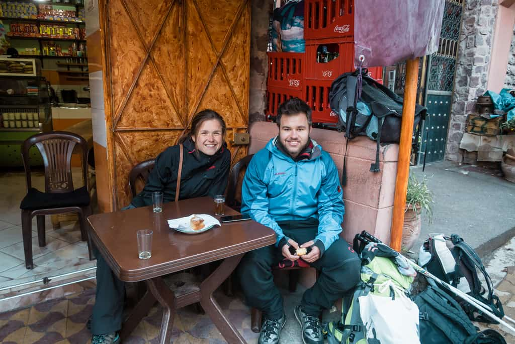 hikers toubkal morocco - trekkers in toubkal morocco - journal of nomads