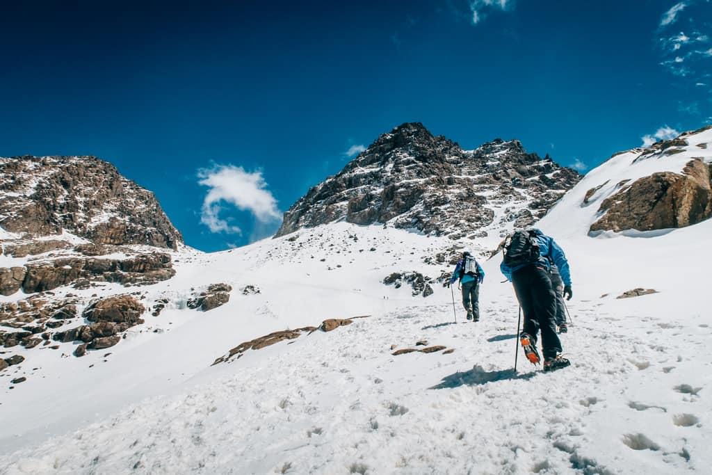hiking mount Toubkal - Trekking jbel Toubkal - Toubkal the highest peak in Morocco - journal of nomads