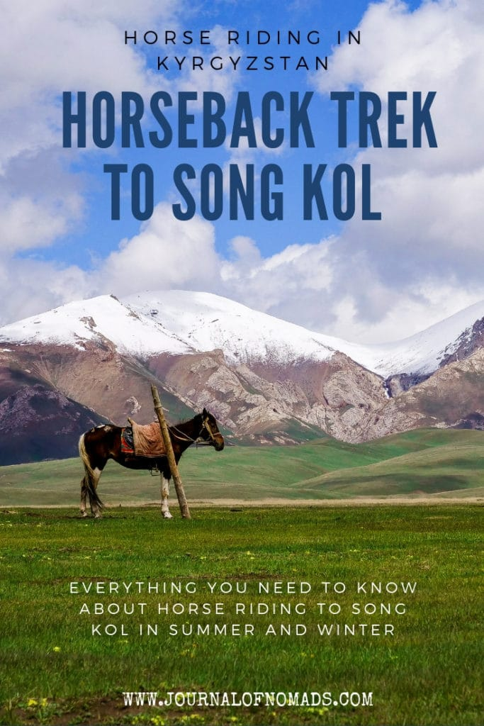 Kyrgyzstan Horse riding - Going on a Horse Trek to Song Kol in Summer and Winter - Everything you need to Know - Journal of Nomads