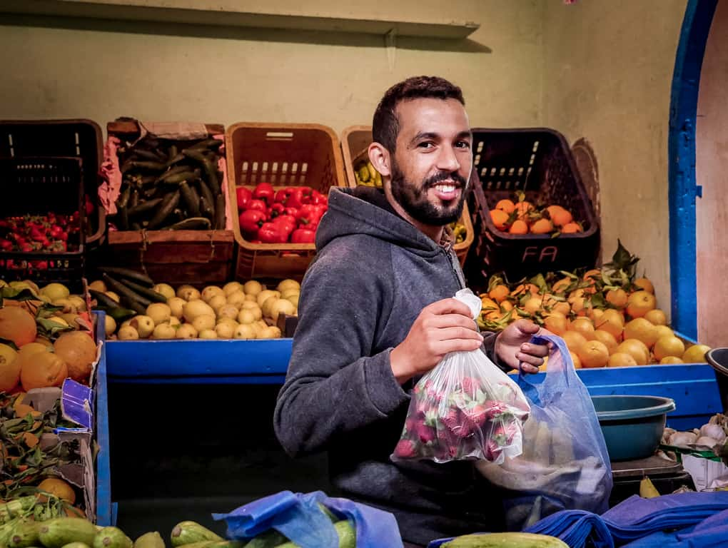 Portraits of Morocco - local market Essaouira - Journal of Nomads