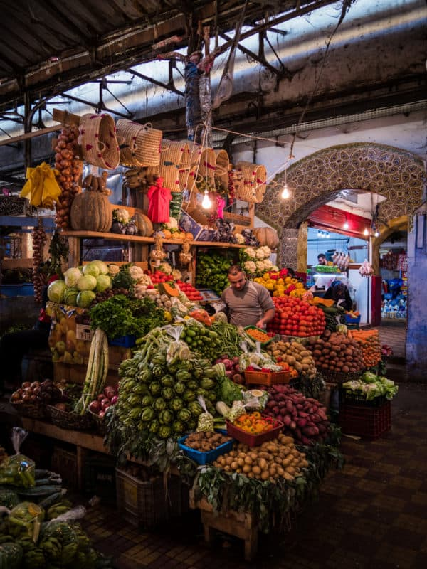 Local market in Tangier - Morocco - best photography places Morocco