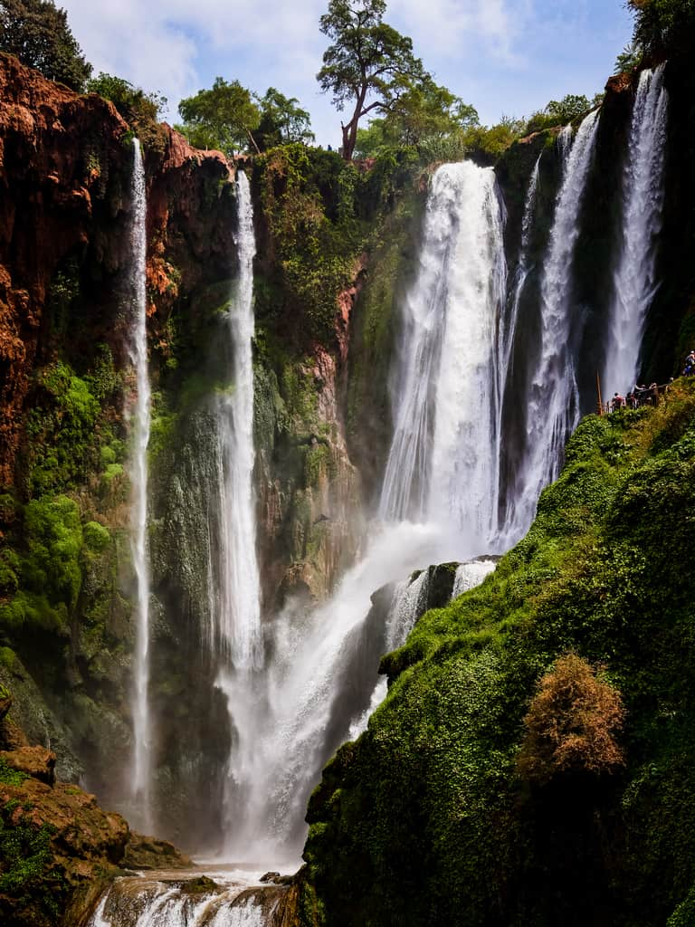 ouzoud waterfalls - Morocco - ouzoud cascades in morocco - Journal of nomads