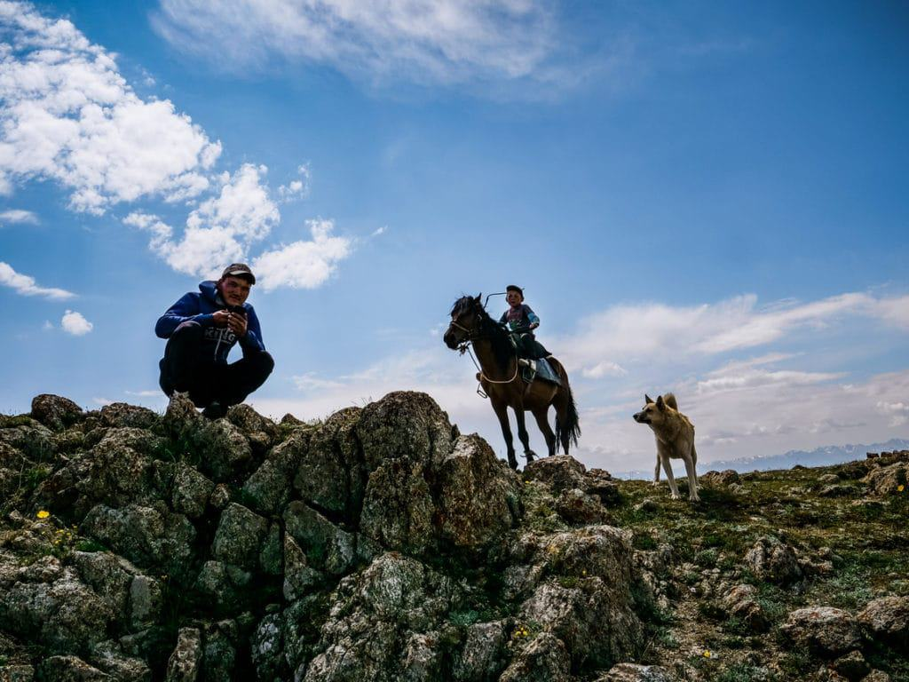 Horse riding to Song Kol - itineraries - Journal of Nomads