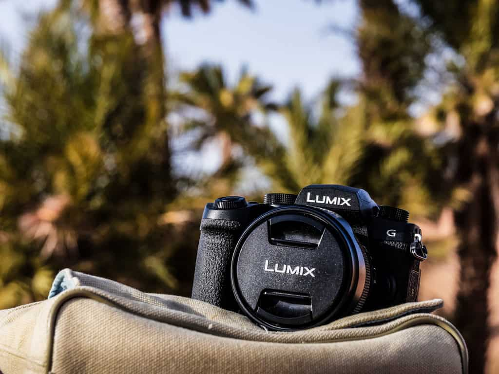 Lumix G90/G95 travel camera