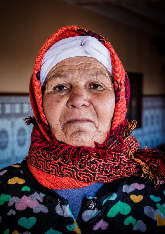 Portrait of Moroccan woman - Journal of Nomads