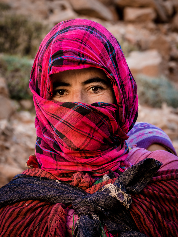 Portrait Berber woman High Atlas Mountains Morocco - Journal of Nomads