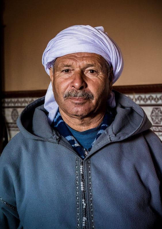 Portrait of Moroccan man - Journal of Nomads