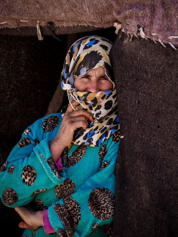 Portrait woman in Morocco - Journal of Nomads