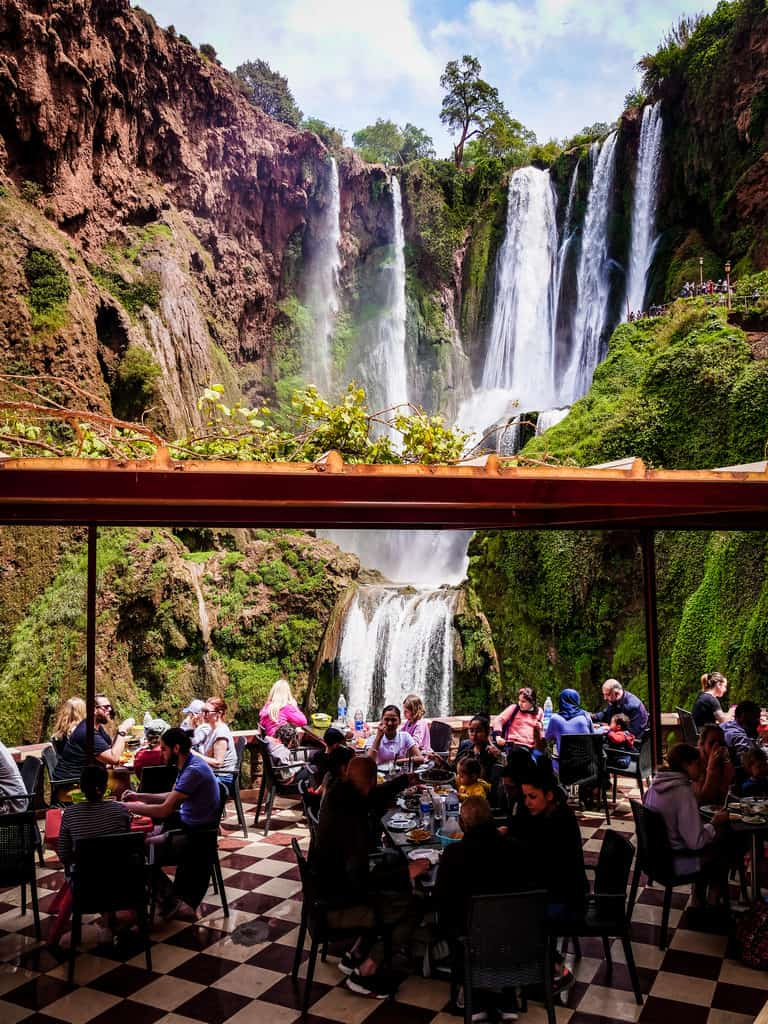 Restaurants near the Ouzoud Cascades - Journal of Nomads