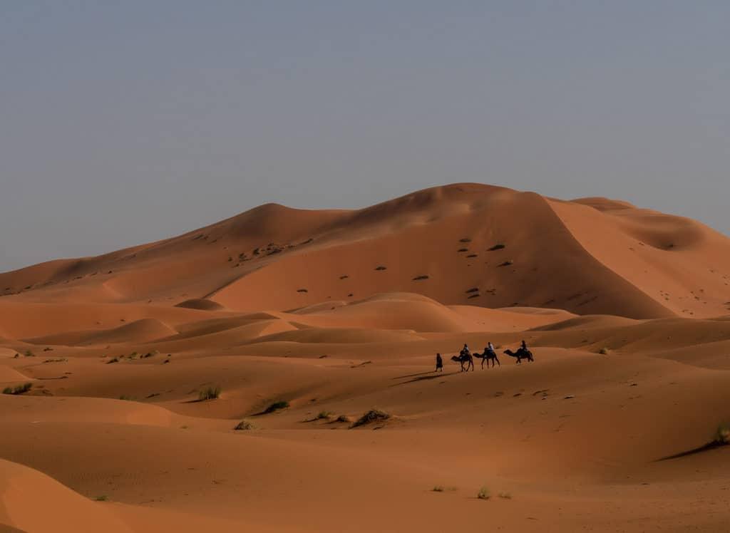 Sahara desert Merzouga Morocco - Journal of Nomads