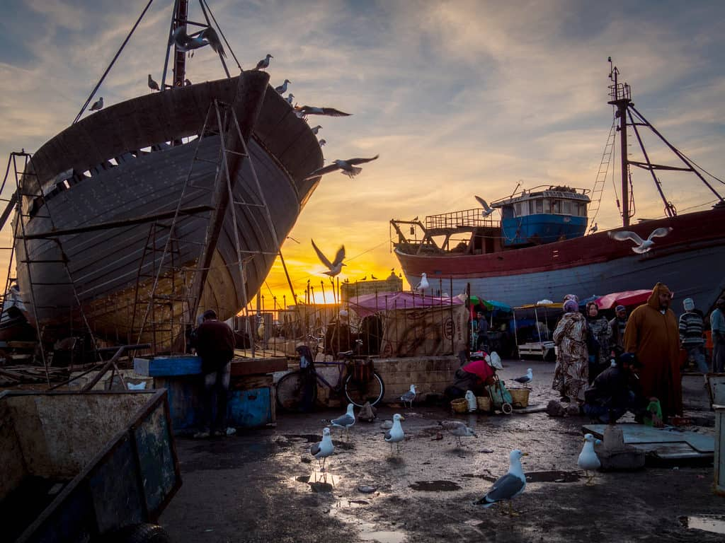 Street photography in Morocco port of Essaouira - Journal of Nomads